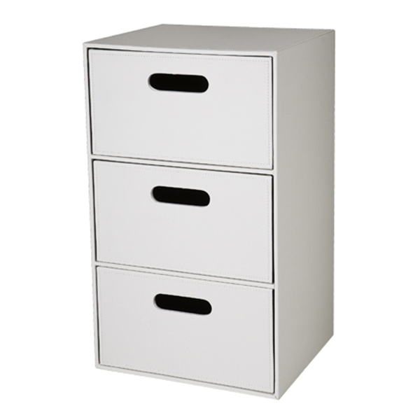 Photo of Freedom Polo 3 Drawer Storage Unit - shop Freedom Conservatory products online