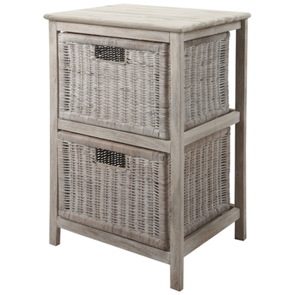 Photo of Freedom Whitehaven 2 Drawer Storage Unit - shop Freedom Conservatory products online